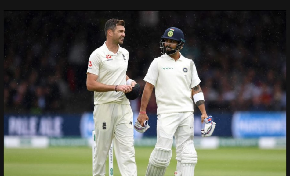 James Anderson explains the improvement made by Virat Kohli from 2014 to 2018
