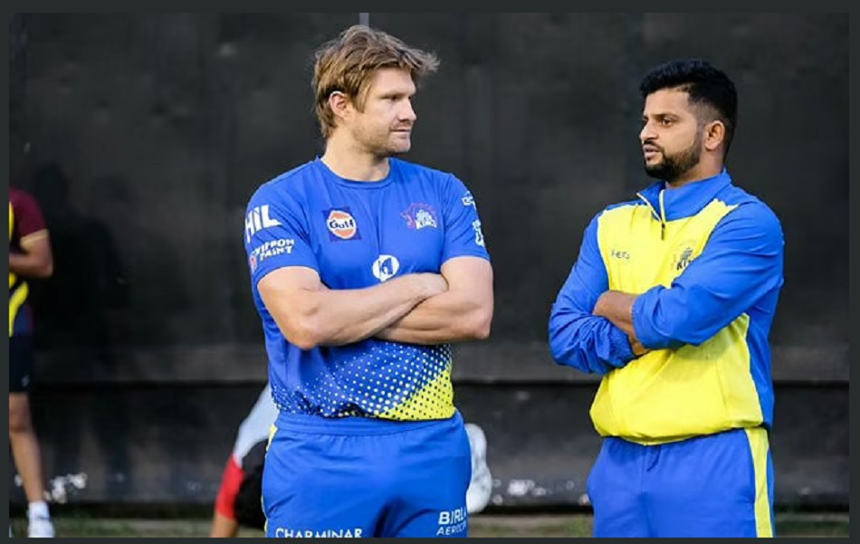 IPL 2020: Suresh Raina team mates Shane Watson is missing him- Watch Video