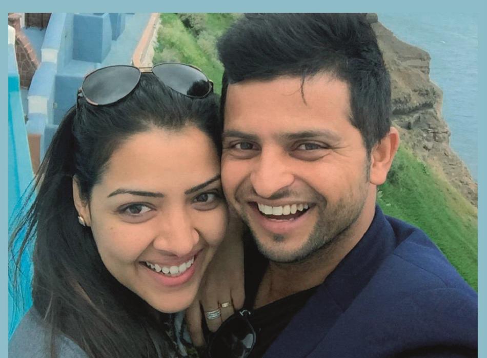 Suresh Raina wife Priyanka tweets and says she was bursting with immense pride