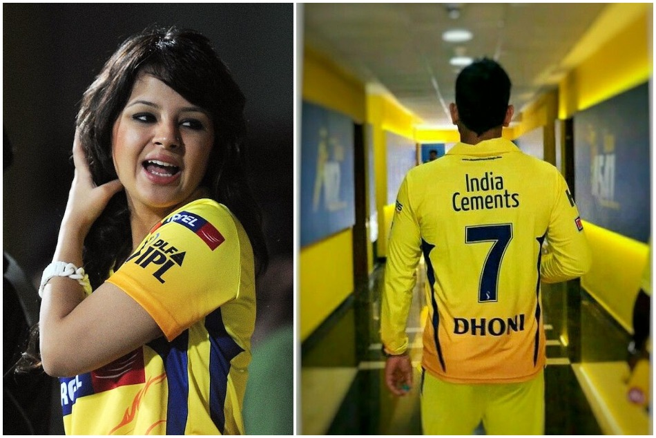IPL 2020: Sakshi Dhoni shares picture in Yellow Dress, CSK replies with tamil song