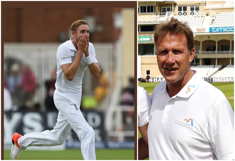 Chris and Stuart Broad make unique hat trick to be involved in an international game as referee and player