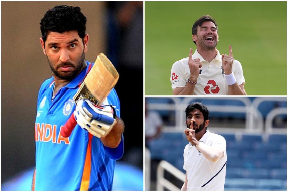 Yuvraj Singh set target for Jasprit Bumrah in test cricket after James Anderson 600 wickets