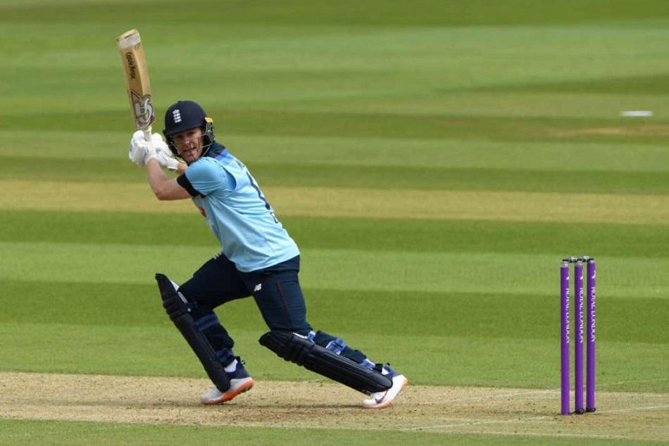 ODI : इयोन मोर्गन ने ठोका ताबड़तोड़ शतक, तोड़ा धोनी के छक्कों का रिकाॅर्ड