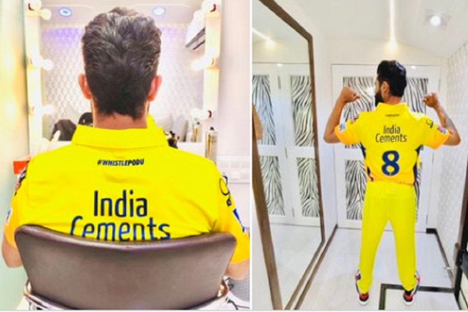 IPL को लेकर बेताब हैं रविंद्र जडेजा, 'येलो जर्सी' में शेयर की फोटो