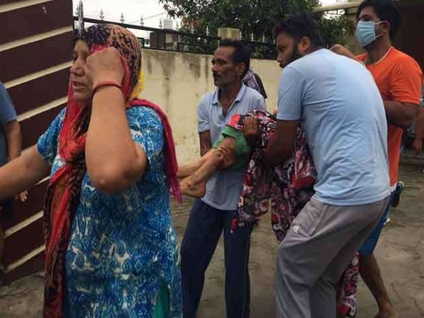 attack on suresh raina Family