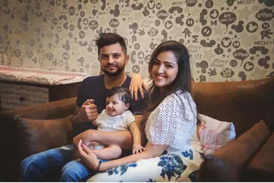 IPL के दौरान सुरेश रैना की बाहों पर दिखेंगे पत्नी और बच्चों के नाम के टैटू, देखें तस्वीरें