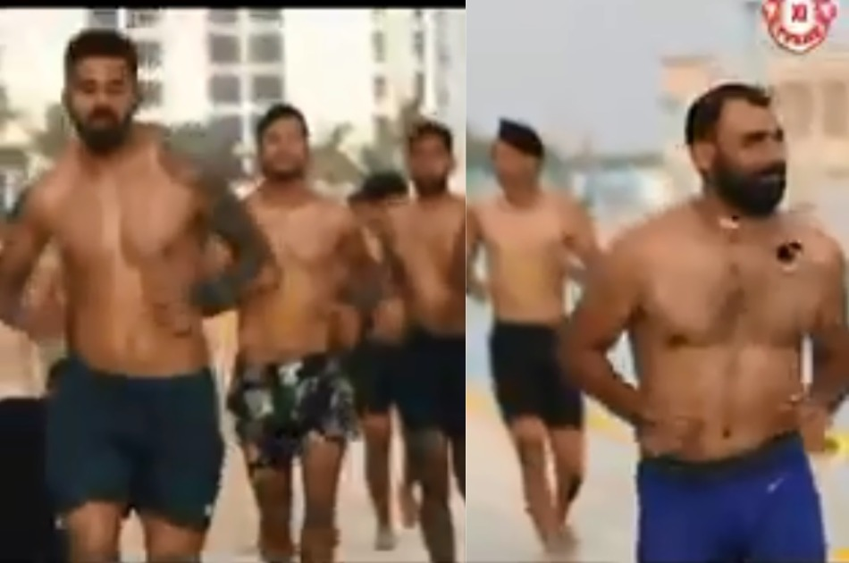 IPL 2020: Kings eleven punjab players having fun on beach, Watch video