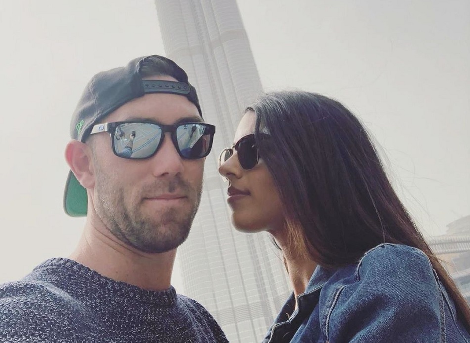 Glenn Maxwells fiancee Vini Raman slams troller when he tried to insult her relationship with white guy