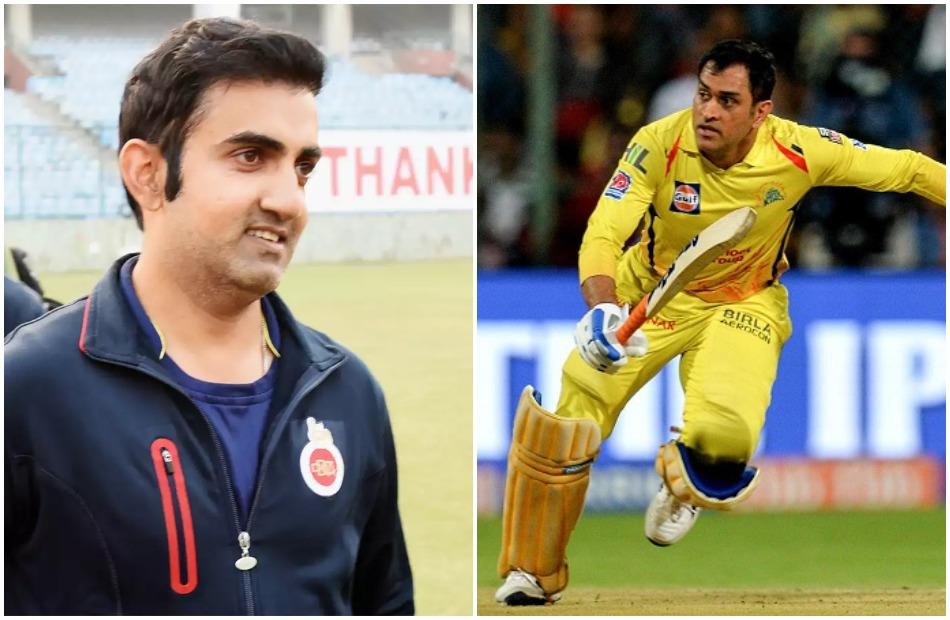 IPL 2020: Gautam Gambhir suggests upper batting order for MS Dhoni in CSK this time