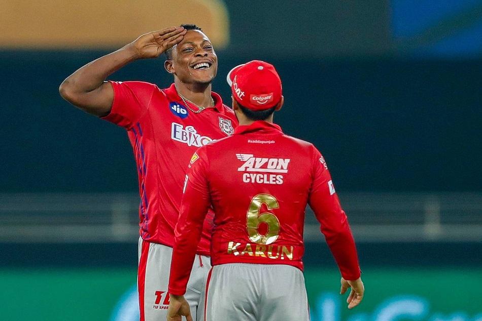 IPL 2020 : शेल्डन कॉट्रेल ने 3 ओवर में लुटाए 52 रन, बनाया शर्मनाक रिकाॅर्ड
