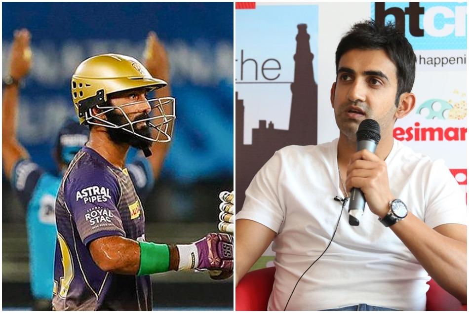 IPL 2020: KKR की कप्तानी छोड़ने के लिए गंभीर ने कार्तिक को लगाई लताड़