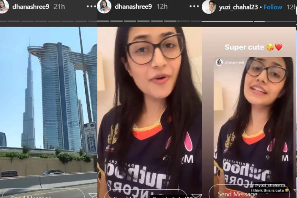 cricketer Yuzvendra Chahals fiance Dhanashree Verma reached Dubai