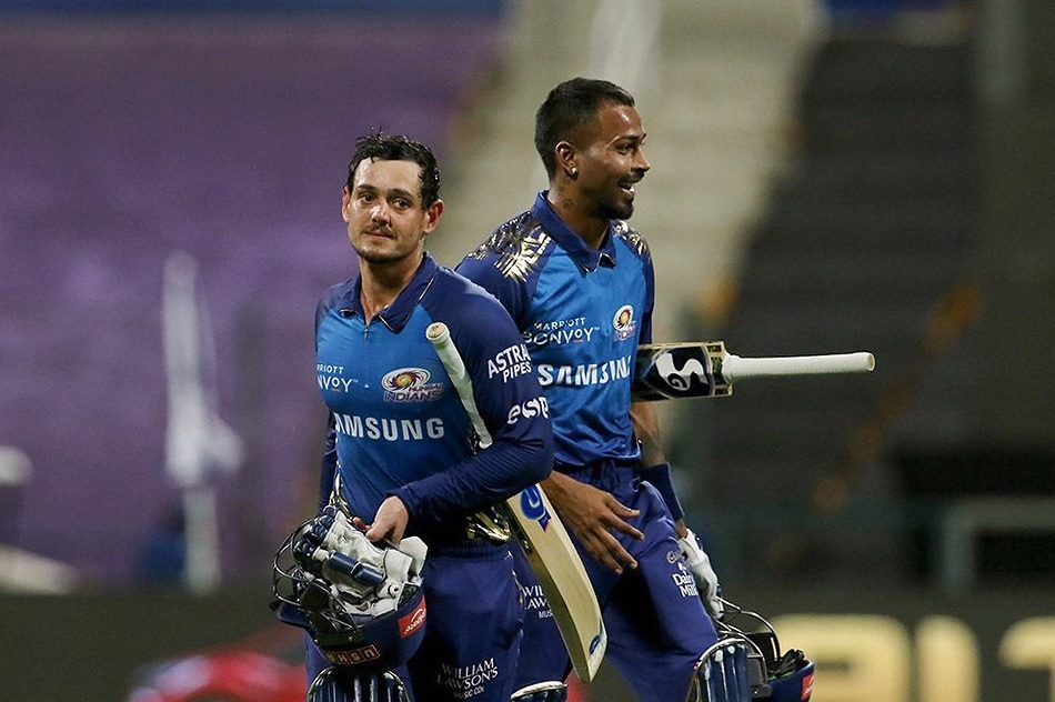 IPL 2020: Graeme Swann posts double meaning tweet on Hardik Pandya and Quinton de Kock partnership