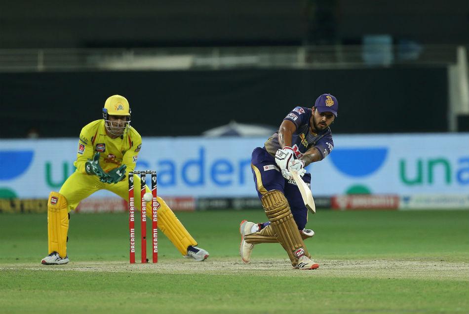 CSK vs KKR: राणा ने फिर ठोंका अर्धशतक, आखिरी 5 ओवर में बटोरे 66 रन, CSK को जीत के लिये 173 की दरकार