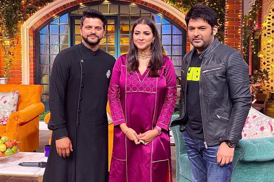 IPL से दूर हुए सुरेश रैना अब 'कपिल शो' में आए नजर