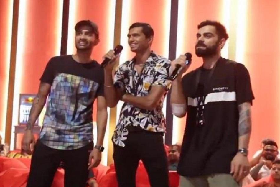 मस्ती के मूड में RCB, कोहली ने पंजाबी गाना गाते हुए किया भांगड़ा
