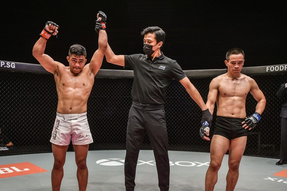 Roshan Mainam won his second match in one championship