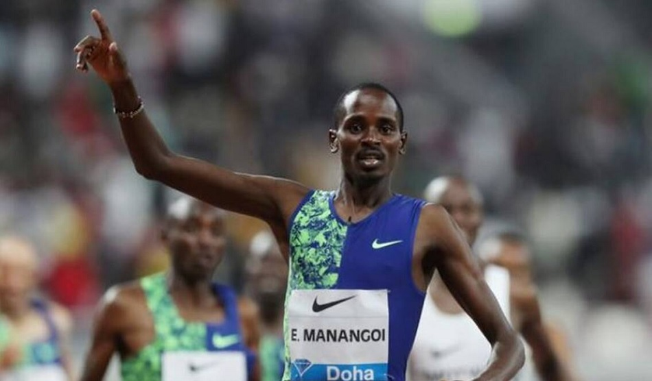 World champion Elijah Manangoi banned for two years for anti-doping violation