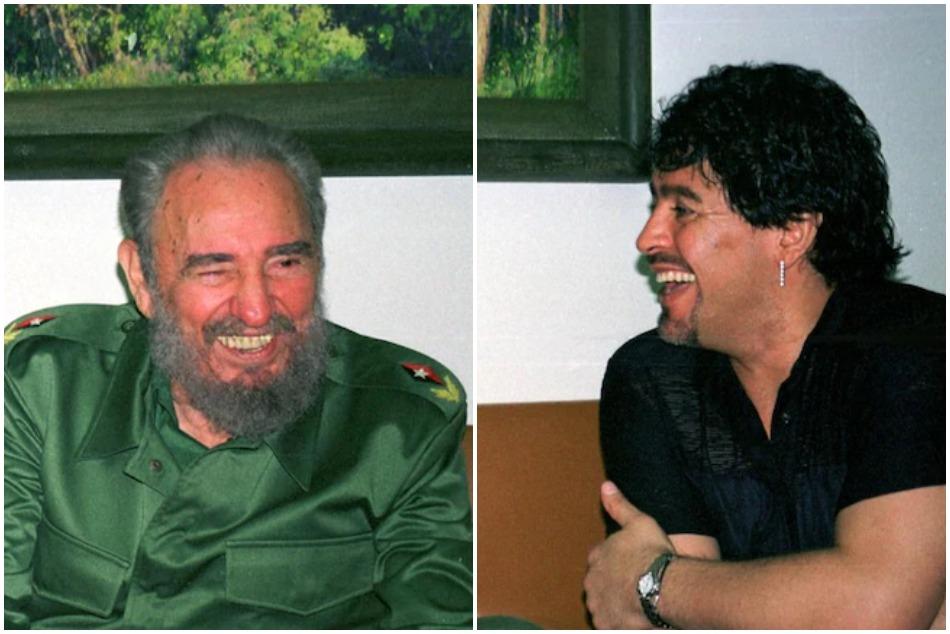 Diego Maradona also expressive on political views, regards Fidel Castro as his second father