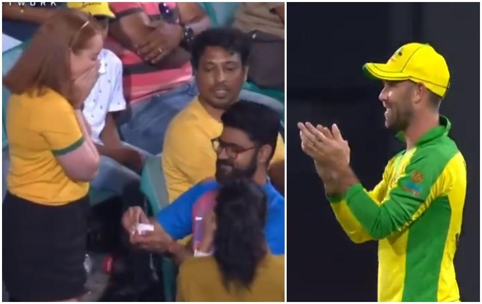 IND vs AUS: भारतीय फैन ने मैच के दौरान किया ऑस्ट्रलियाई गर्लफ्रेंड को प्रपोज, VIDEO वायरल