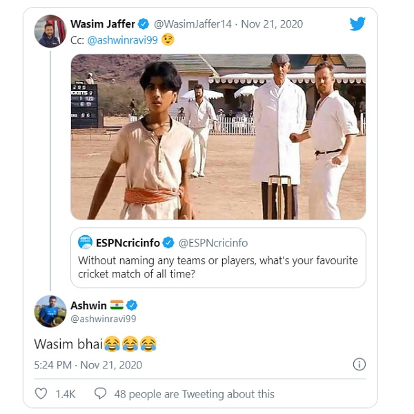 आईपीएल 2020 में रविचंद्रन अश्विन-