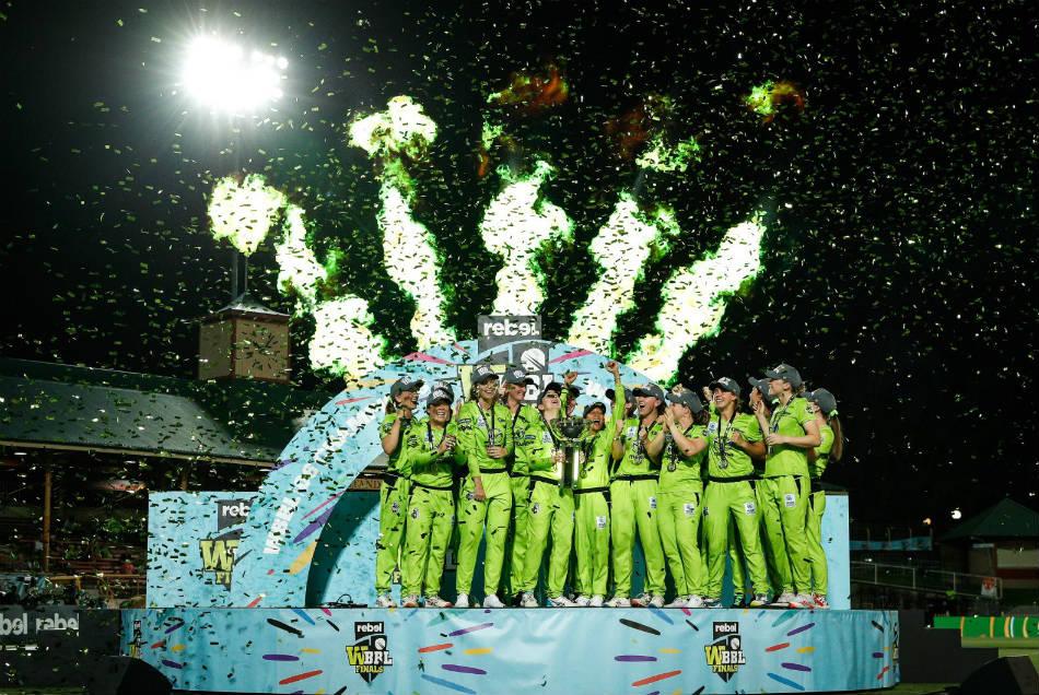 WBBL 2020: दूसरी बार चैम्पियन बनी सिडनी थंडर्स, 7 विकेट से जीता मैच
