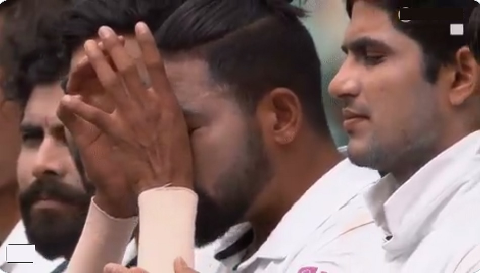 India vs Australia SCG Test: Mohammad Siraj getting emotional during National anthem- Video