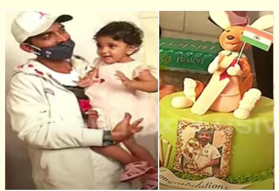 स्वागत में केक के ऊपर बनाया था कंगारू, अंजिक्य रहाणे ने काटने से किया मना- VIDEO