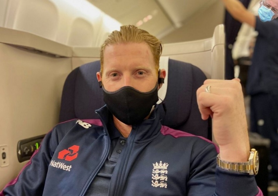 IND vs ENG: Ben Stokes flight headed to India, photo goes viral