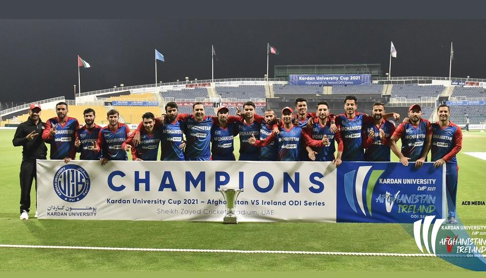 Afghanistan clean sweep Ireland in 3 ODI series, Rashid Khan gives allround performances