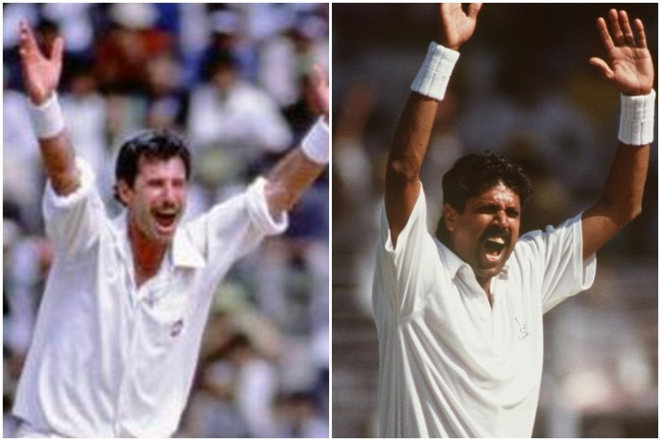 27 years ago Kapil Dev equaled Richard Hadlee record of most test wickets