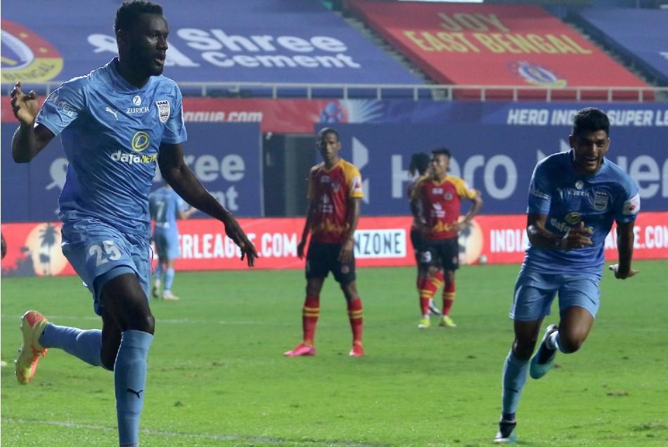 ISL 2020-21: मुंबई सिटी एफसी की लगातार जीत का क्रम है जारी, ईस्ट बंगाल को हराया