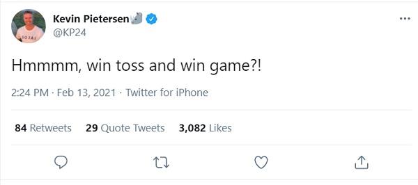 केविन पीटरसन ने पूछा- टॉस जीतों, मैच जीतों?