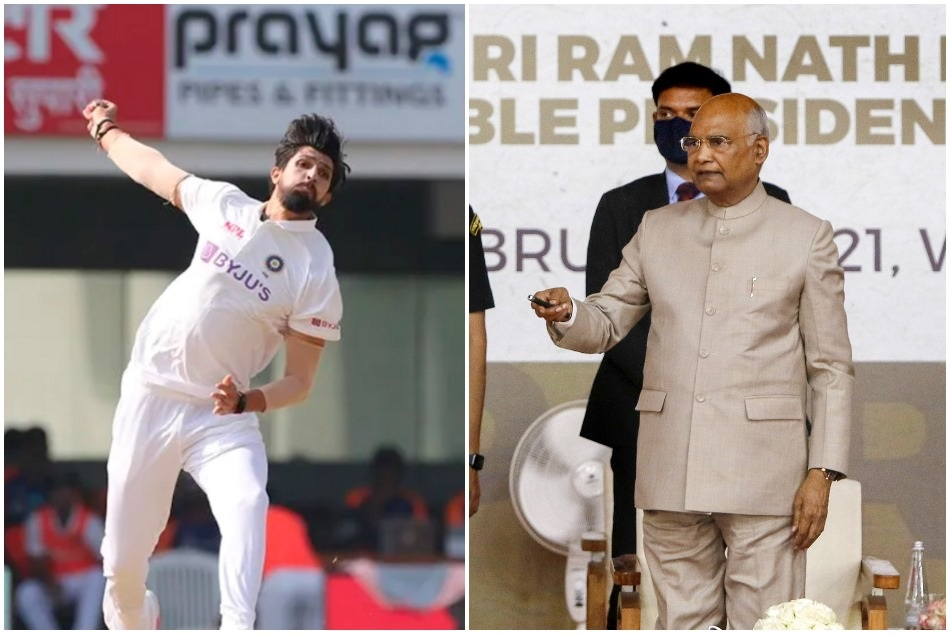 IND vs ENG: Ishant Sharma 100th test, presented with a special cap by the President of India