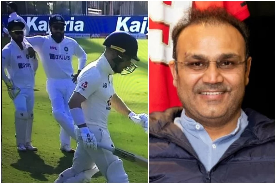 IND vs EnG: Watching as Procession is coming out of street- Virender Sehwag shares Jack Leachs photo