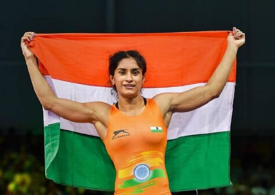 Vinesh Phogat wins gold medal at the Outstanding Ukrainian Wrestlers And Coaches Memorial event