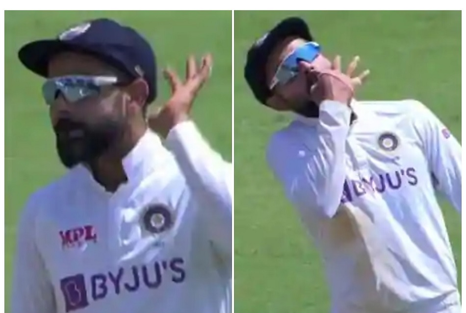 IND vs ENG: Virat Kohli did Whistle Podu in Chennai, encourages crowd too