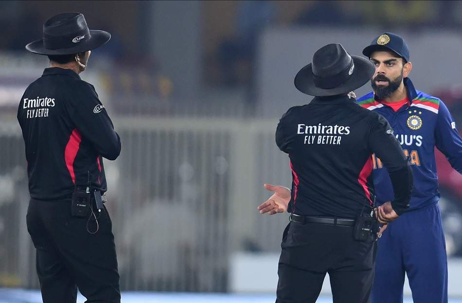 IND vs ENG: Umpire Nitin Menon caught everyones attention, Dinesh Karthik said one of the best