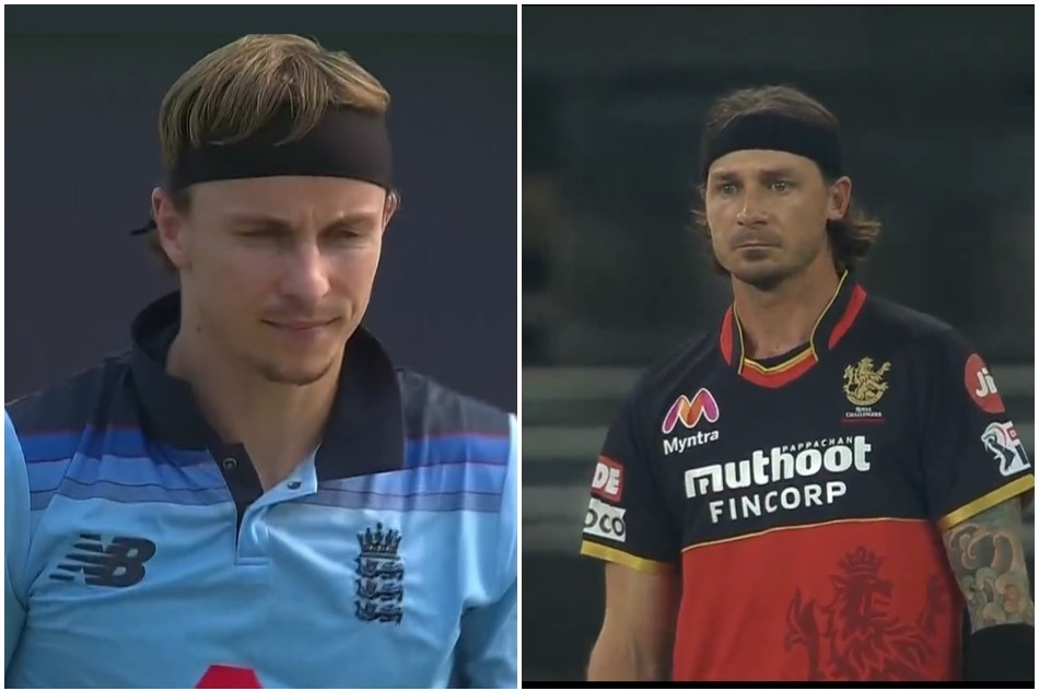 IND vs ENG: Tom Currans new style in hairband, mocked by saying cheap Dale Steyn