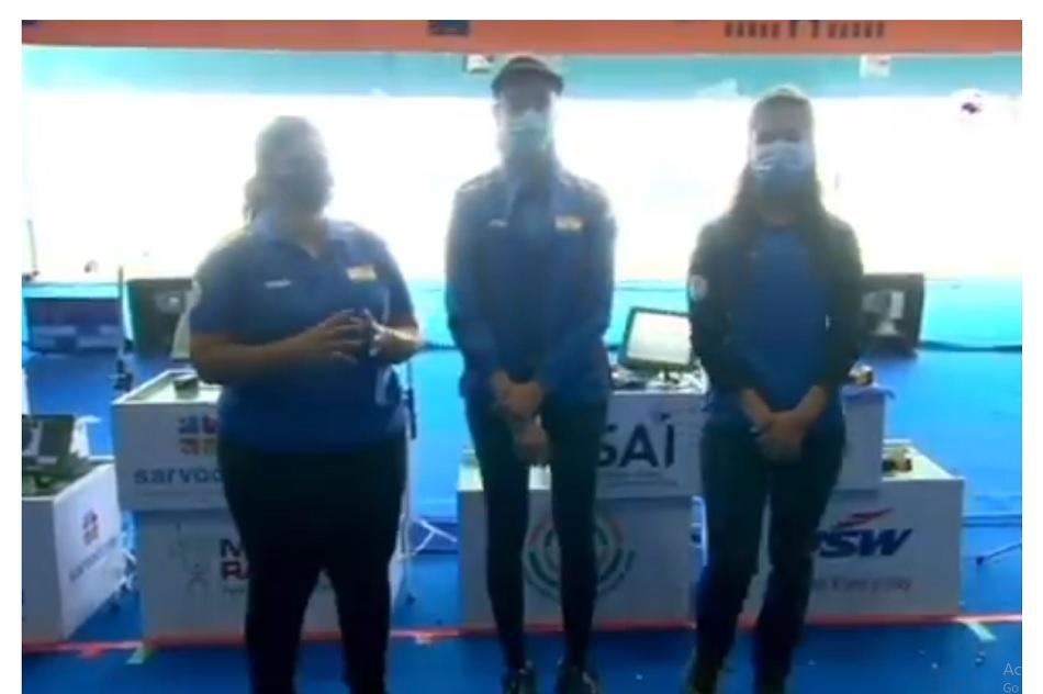 ISSF World Cup: Chinky Yadav win gold in womens 25m pistol, Rahi Sarnobat wins silver, Manu Bhaker bags bronze