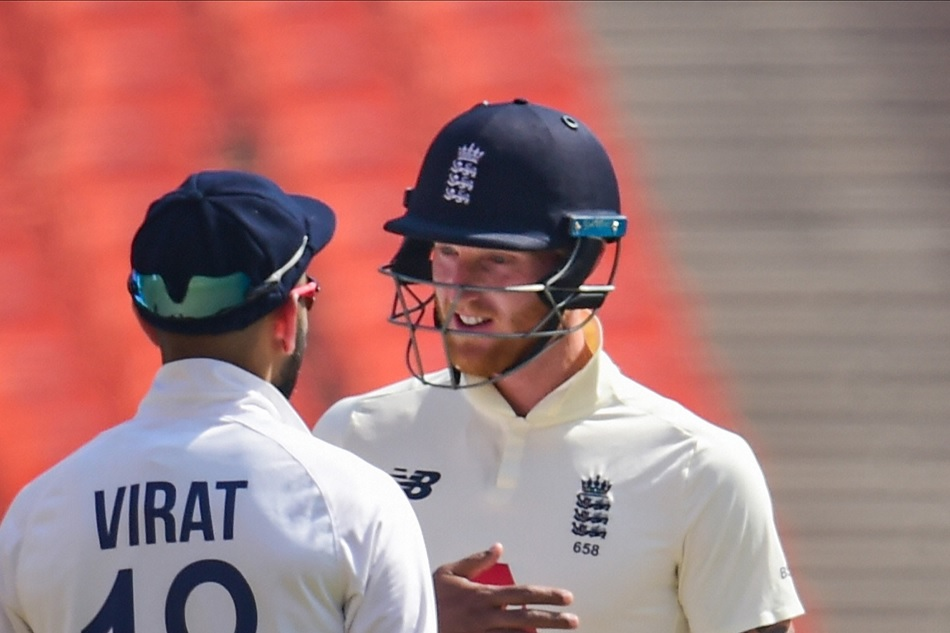IND vs ENG 4th Test: Ben Stokes reacts after some words exchange with Virat Kohli