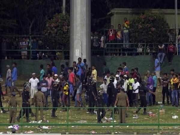 श्रीलंका का सम्मानजनक स्कोर