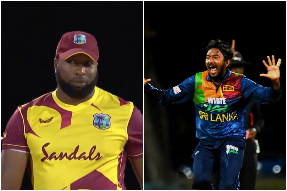 WI vs SL: Akila Dananjaya first take hat-trick, then Kieron Pollard smack 6 sixes in an over