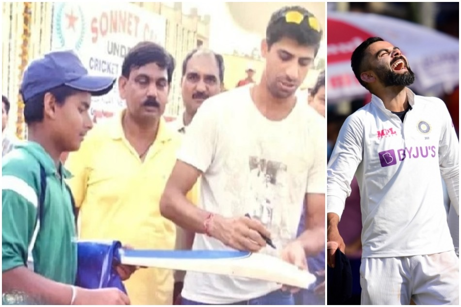 Rishabh Pants photo with Ashish Nehra went viral, compared with similar photo of Virat Kohli