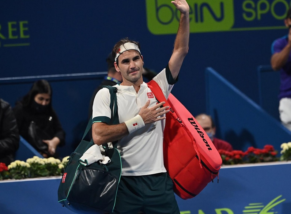 Qatar Open 2021: Roger Federer is out of mens singles competition after losing in quarterfinals