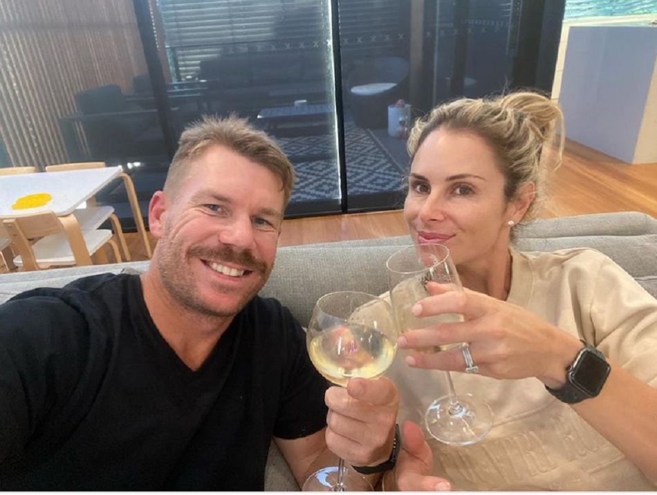 IPL 2021: David Warner post picture with his wife ahead of going to India