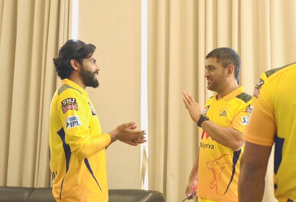 IPL 2021 CSK: Ravindra Jadeja shares his experience meeting with MS Dhoni