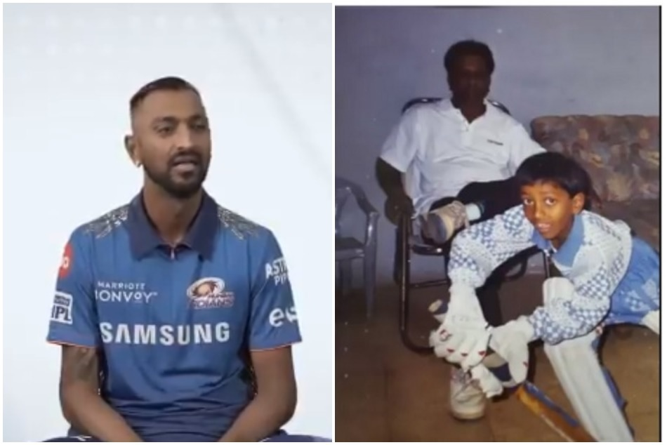IPL 2021: Krunal Pandya gets emotional and reveals how his father made a prediction just 2 days before his gone