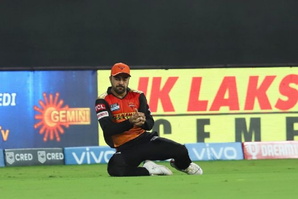 IPL 2021 : राशिद खान ने लपका अद्भुत कैच, वीडियो हुआ वायरल