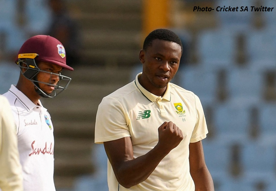 South Africa won by an inning and 63 runs against west Indies, Kagiso Rabada took 5 wickets
